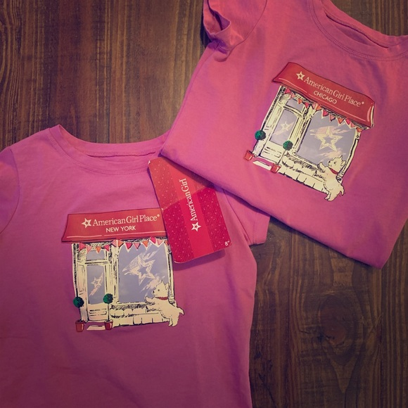 American Girl Other - American Girl T- Shirts NWT